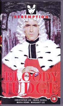 The Bloody Judge (VHS)