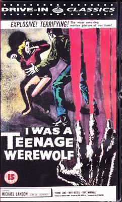 I Was A Teenage Werewolf (VHS)
