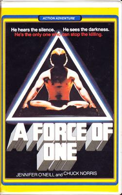A Force of One (VHS)
