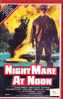Nightmare At Noon (VHS)