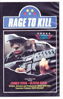 Rage To Kill (VHS)