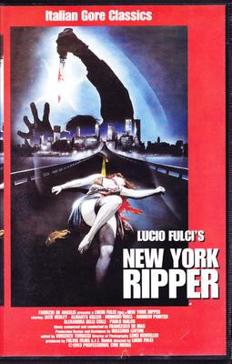 The New York Ripper (VHS)